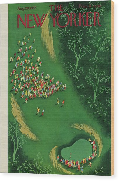 New Yorker August 29th, 1953 Wood Print