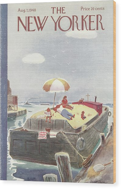 New Yorker August 7th, 1948 Wood Print