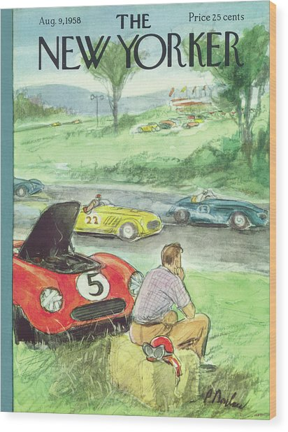 New Yorker August 9th, 1958 Wood Print