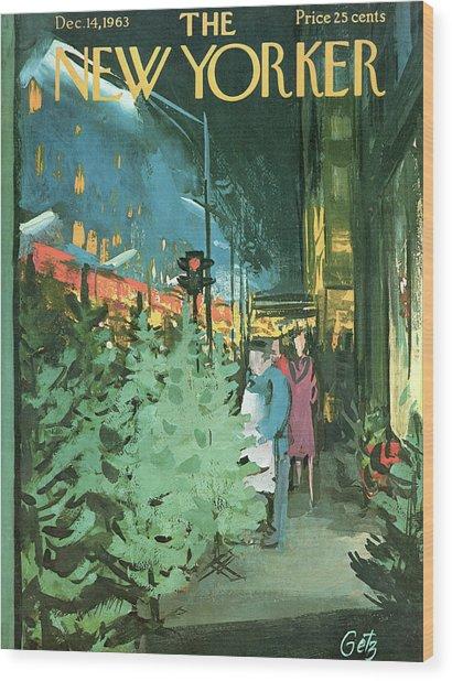 New Yorker December 14th, 1963 Wood Print