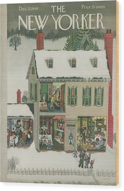 New Yorker December 21st, 1946 Wood Print