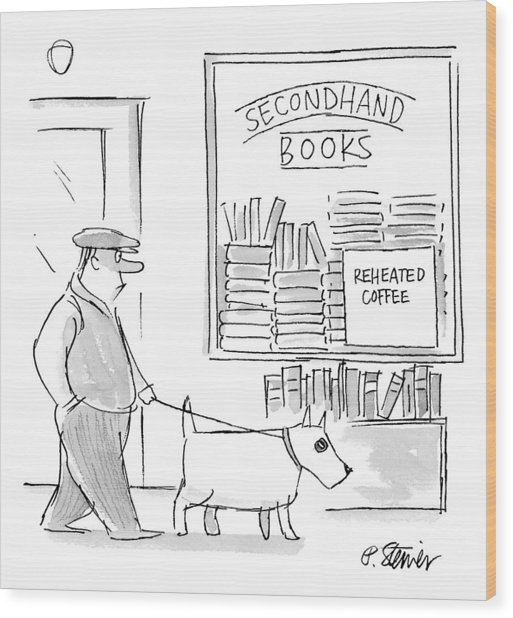 New Yorker December 22nd, 1997 Wood Print