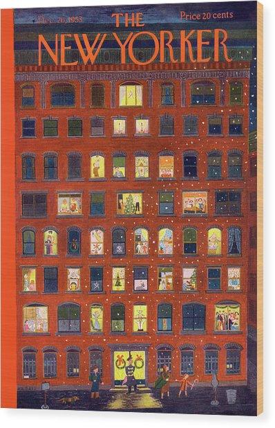 New Yorker December 26, 1953 Wood Print
