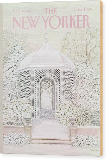 New Yorker December 26th, 1983 Wood Print