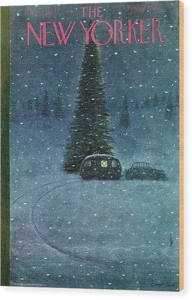 New Yorker December 27th, 1947 Wood Print