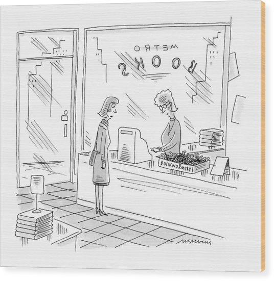 New Yorker December 27th, 1999 Wood Print