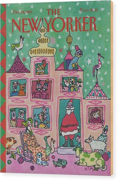 New Yorker December 28th, 1981 Wood Print