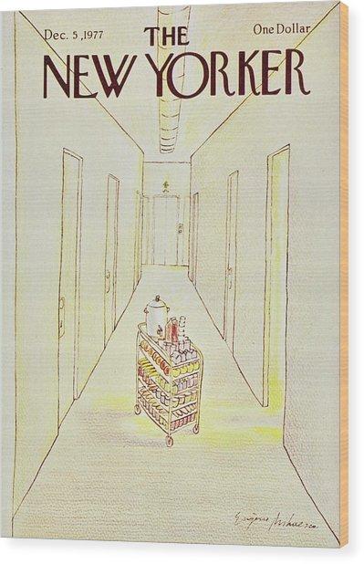 New Yorker December 5th 1977 Wood Print by Eugene Mihaesco