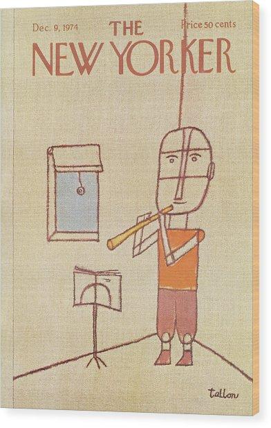 New Yorker December 9th, 1974 Wood Print