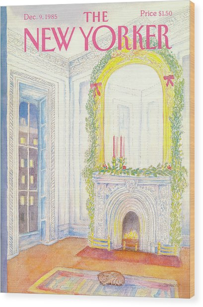 New Yorker December 9th, 1985 Wood Print