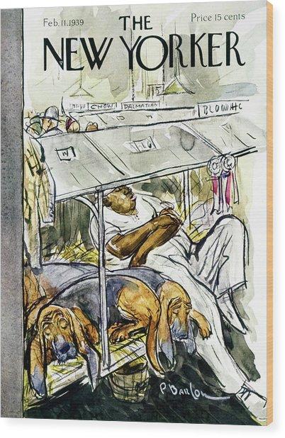 New Yorker February 11 1939 Wood Print