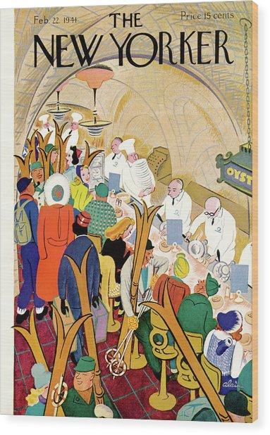 New Yorker February 22nd, 1941 Wood Print