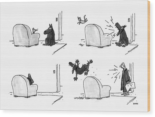 New Yorker February 22nd, 1993 Wood Print