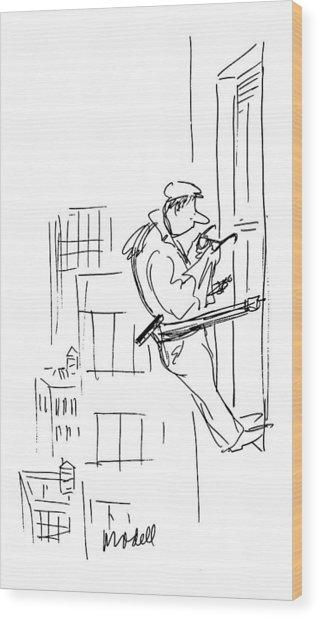New Yorker February 24th, 1975 Wood Print