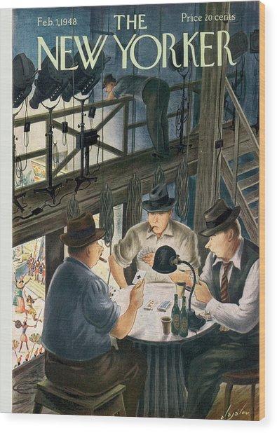 New Yorker February 7th, 1948 Wood Print