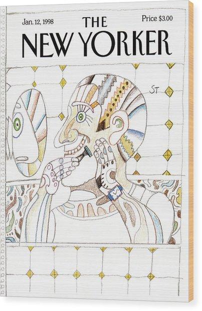 New Yorker January 12th, 1998 Wood Print