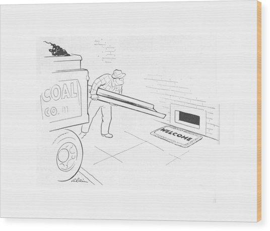 New Yorker January 15th, 1944 Wood Print