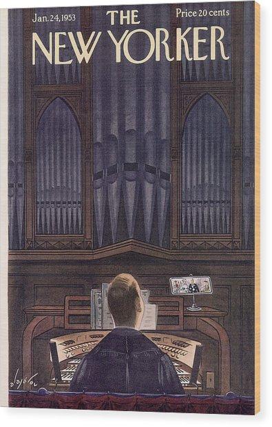 New Yorker January 24th, 1953 Wood Print