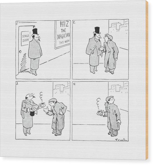 New Yorker January 30th, 1943 Wood Print