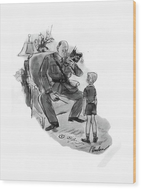 New Yorker January 4th, 1941 Wood Print