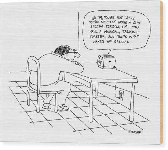 New Yorker January 5th, 1976 Wood Print
