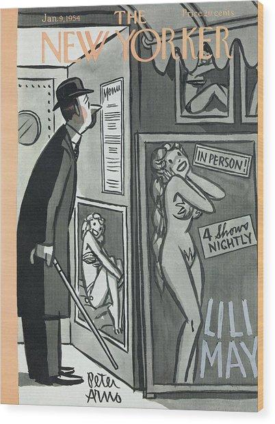 New Yorker January 9th, 1954 Wood Print