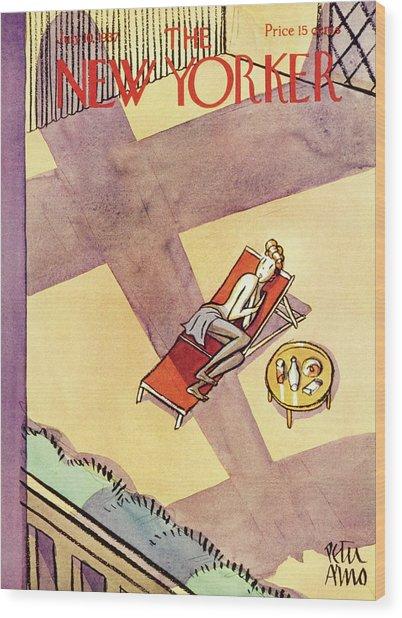 New Yorker July 10 1937 Wood Print
