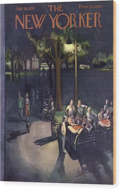 New Yorker July 18th, 1953 Wood Print