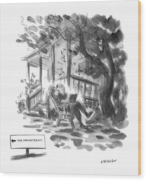 New Yorker July 21st, 1975 Wood Print