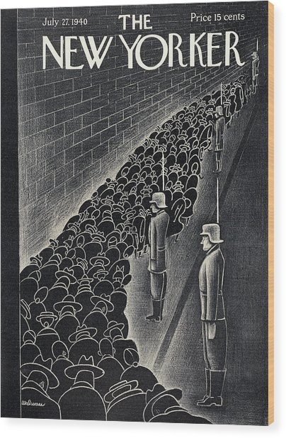 New Yorker July 27th, 1940 Wood Print
