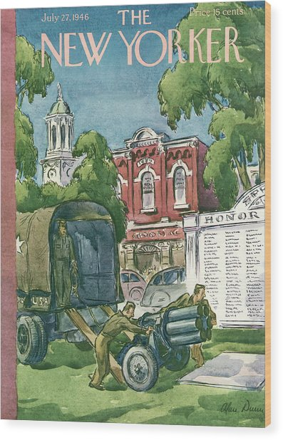 New Yorker July 27th, 1946 Wood Print