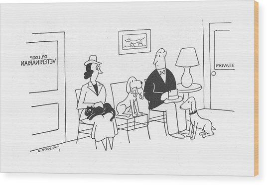 New Yorker July 31st, 1943 Wood Print