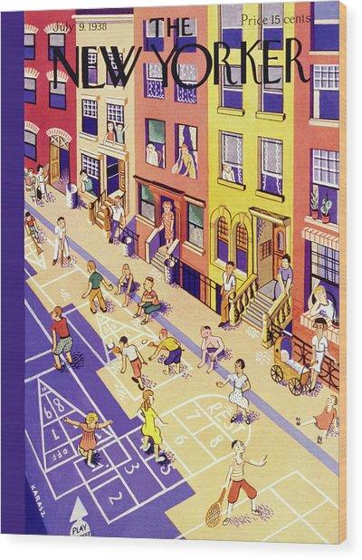 New Yorker July 9 1938 Wood Print
