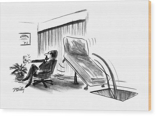 New Yorker June 10th, 1991 Wood Print