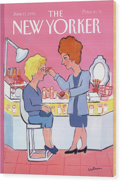 New Yorker June 11th, 1990 Wood Print