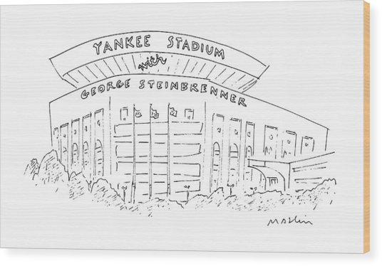 New Yorker June 15th, 1987 Wood Print