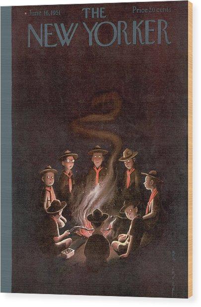 New Yorker June 16th, 1951 Wood Print