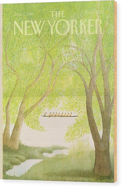 New Yorker June 1st, 1981 Wood Print