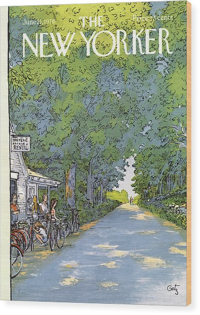 New Yorker June 21st, 1976 Wood Print