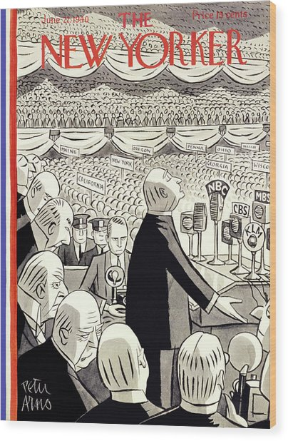 New Yorker June 22 1940 Wood Print