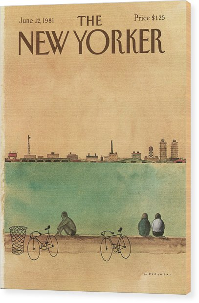 New Yorker June 22nd, 1981 Wood Print