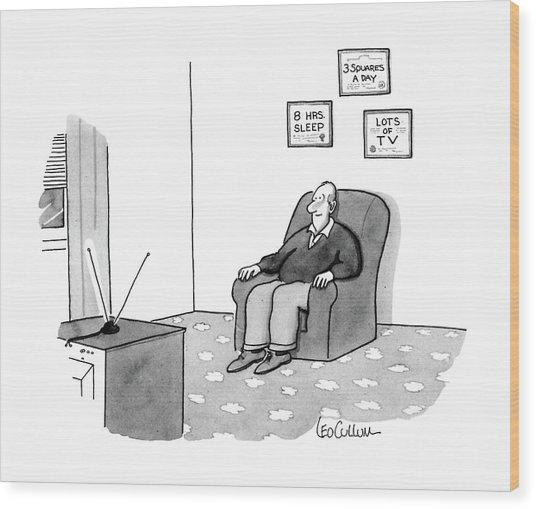 New Yorker June 22nd, 1987 Wood Print