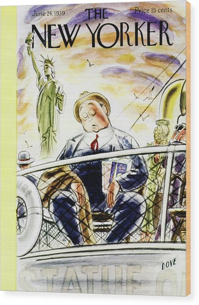 New Yorker June 24 1939 Wood Print by Leonard Dove