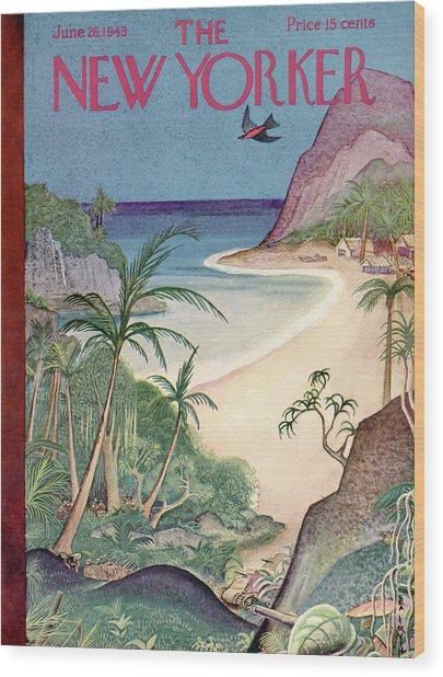 New Yorker June 26th, 1943 Wood Print