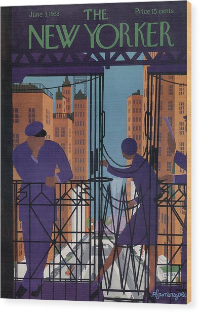 New Yorker June 3rd, 1933 Wood Print