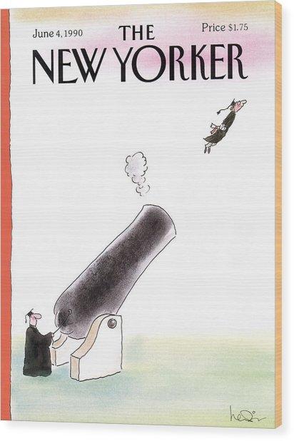 New Yorker June 4th, 1990 Wood Print