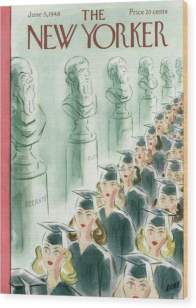 New Yorker June 5th, 1948 Wood Print