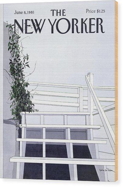New Yorker June 8th, 1981 Wood Print