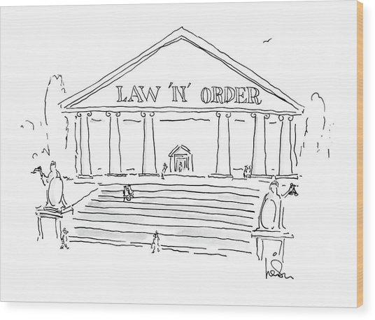 New Yorker June 8th, 1987 Wood Print