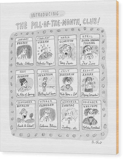 New Yorker June 8th, 1998 Wood Print